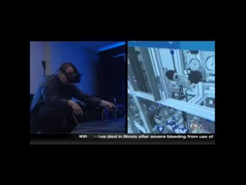KWQC Fran Riley: Virtual Reality in Academics and Business