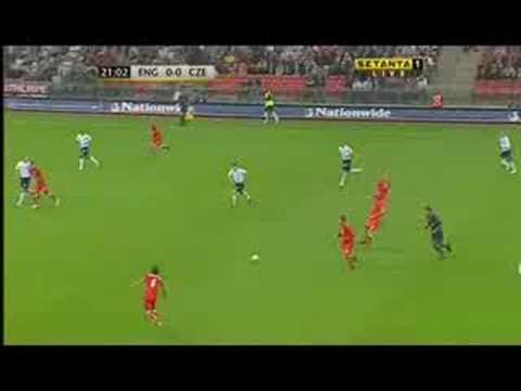 """Steven Gerrard v Czech Republic """"England's Best Performer"""""""