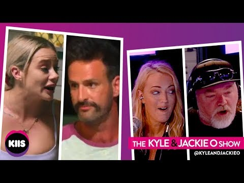 Jess & Mick (MAFS) Trade Insults During Face Off On Kyle & Jackie O Show |