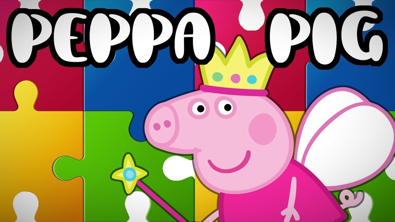 Peppa Pig | Baby Puzzle Game for Little Kids