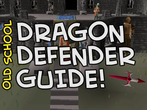 Old School Runescape Dragon Defenderwarriors Guild Guide From No