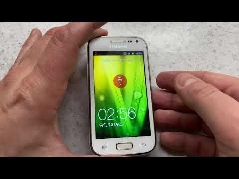 Galaxy Ace 2 GT-I8160 in 2020: incoming call, original ringtones, menu