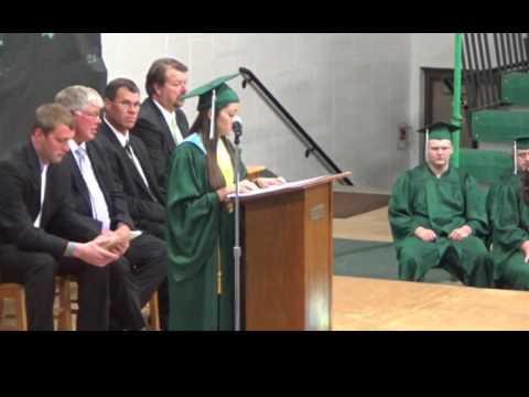 Kimball (SD) School 2017 Graduation Ceremony