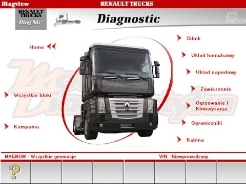renault diagnostica diagnostic software for old renault trucks youtube. Black Bedroom Furniture Sets. Home Design Ideas