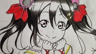 how to draw nico yazawa (Love Live)