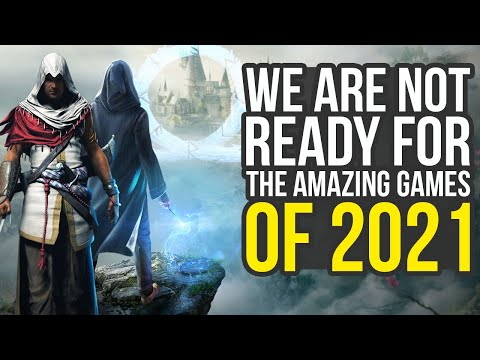 We Are Not Ready For The 2021 Games (Horizon Forbidden West, God Of War PS5, Harry Potter PS5 & More
