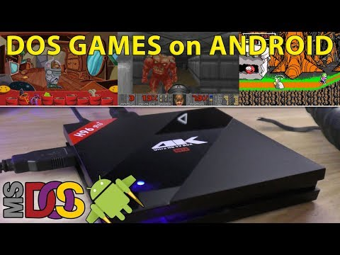 Dos Games On The H96 Pro Plus [Android Tv Box]