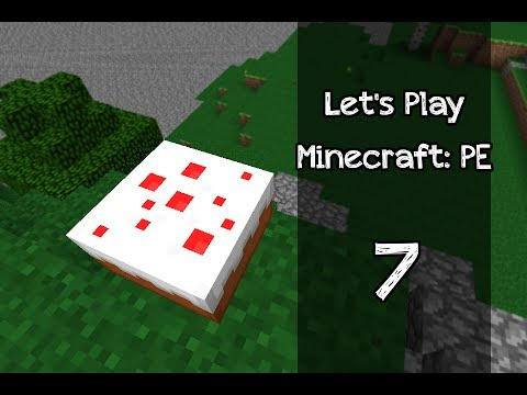 How To Make A Cake In Minecraft Pe Youtube