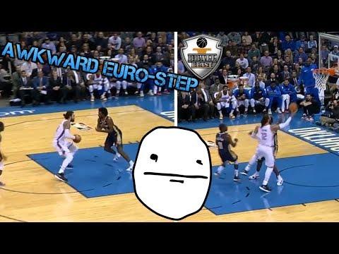 """NBA """"AWKWARD & RARE"""" MOMENTS thumbnail"""