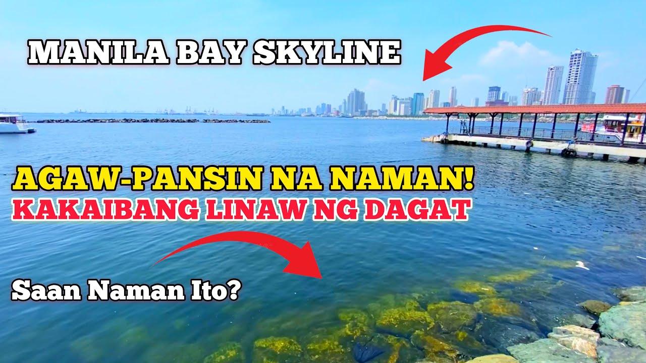 Download KAKAIBANG LINAW NG MANILA BAY AGAW-PANSIN NA NAMAN!