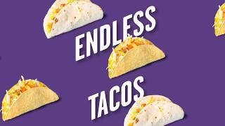 $8.99 Endless Tacos - Limited Time ...