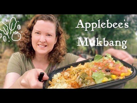 Mukbang   Applebee's   Irresist – A – Bowls (Shrimp)