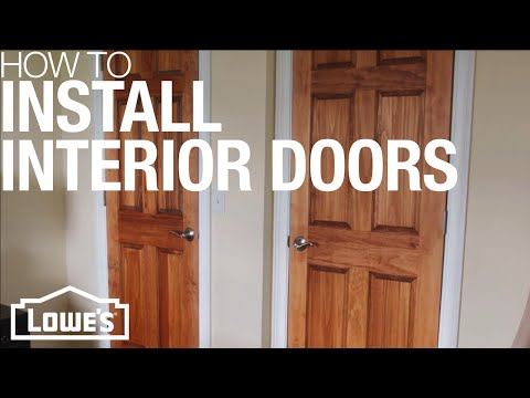 How To Install Interior Doors
