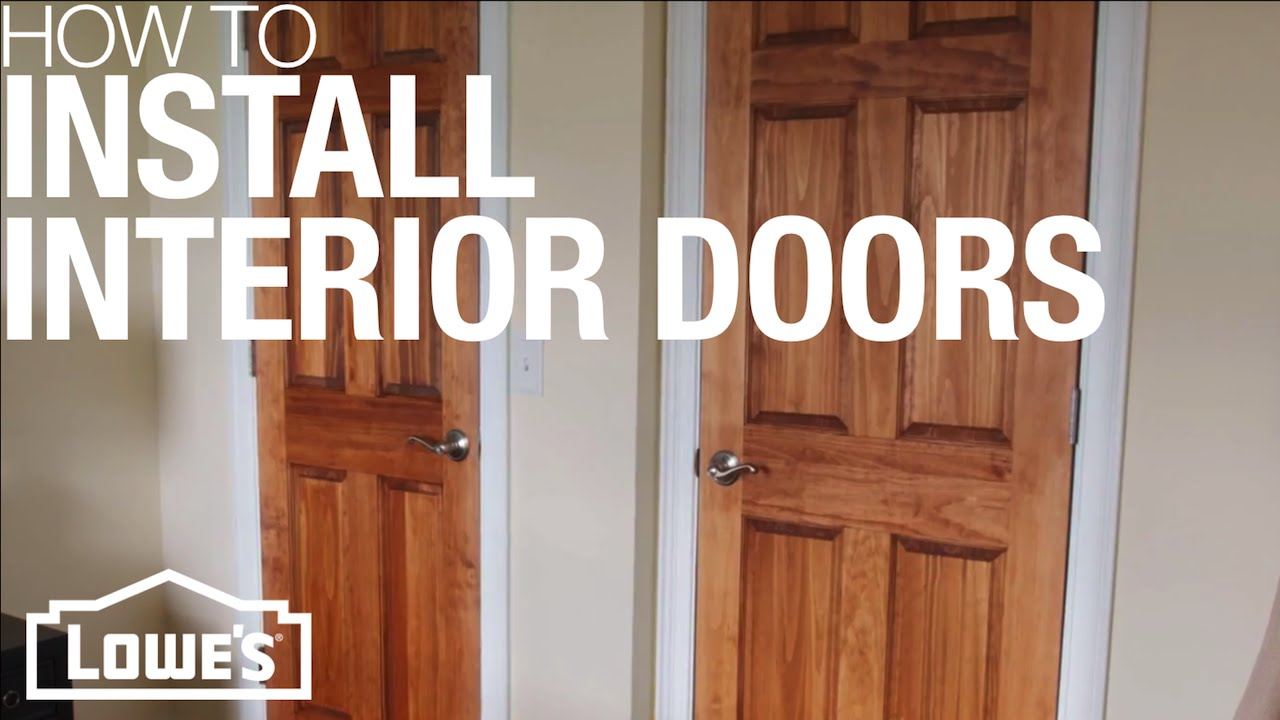 How To Install Interior Doors