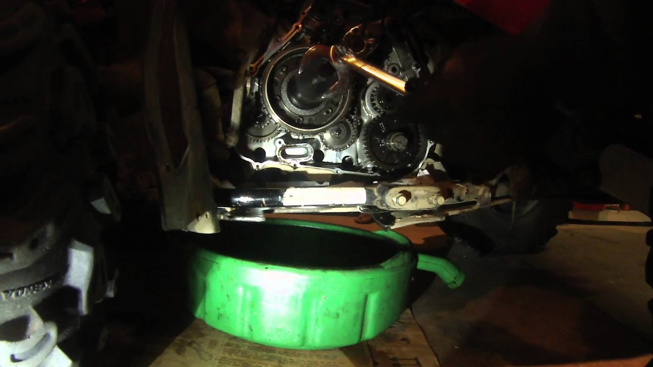 Starter Clutch Repair Flywheel Pulling 2006 Suzuki
