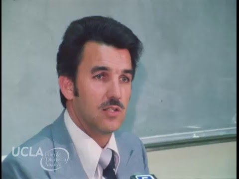 "KTLA News: ""Los Angeles detective briefs reporters on Damian Garcia homicide..."" (1980)"