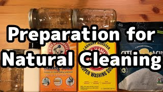 Natural Cleaning Preparation (Baking Soda, Washing Soda, Citric Acid)