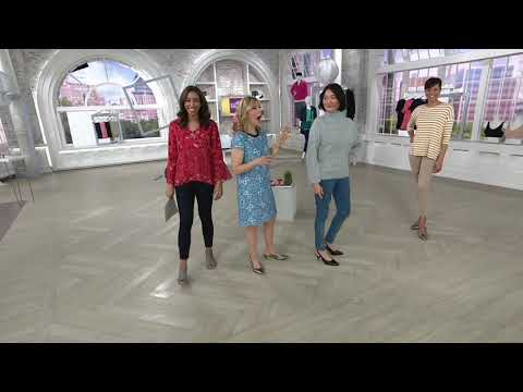 fb08c37902f Clarks Leather Slingback Pumps- Linvale Loop on QVC - YouTube