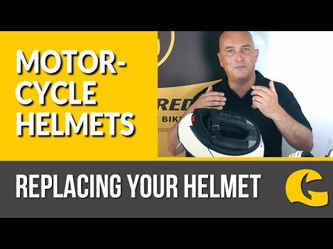 Motorcycle Helmets: When To Replace Your Helmet #GetGreatGear  | GetGeared.co.uk