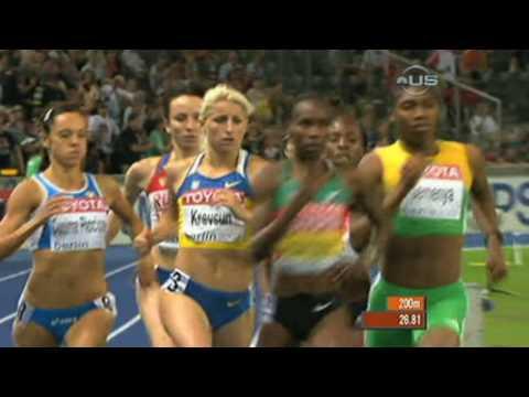 Semenya becomes world champion - from Universal Sports
