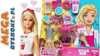 Barbie Zestaw Baristy • Pyszna kawa od Barbie • Testujemy!!! • kreatywne zabawki