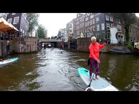 Live Love SUP - Stand Up Paddle In Amsterdam July 2019
