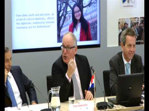 INYS Lunch with Minister Frans Timmermans (Full session with the Minister on 23 April 2014)