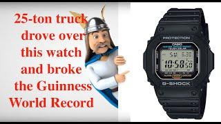 Toughest watch in the world, CASIO G-SHOCK tough solar G-5600E