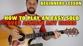 How To Play An Easy Solo MP3