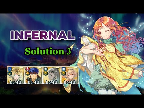No SI | F2P | Infernal Solution 3 | Mythic Hero Battle: Yune | No Seals | Fire Emblem Heroes