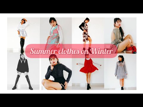 #WinterOutfitIdeas #WinterInSouthIndia Styling summer clothes on winter! Apt for south India!