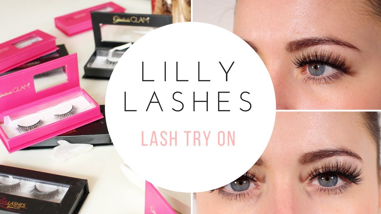 ce8c82a24ce BEST SELLING LILLY LASHES TRY ON: MIAMI, MYKONOS & MORE - YouTube