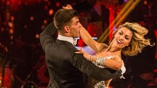 Abbey Clancy & Aljaz dance the Viennesse Waltz to 'Delilah' - Strictly Come Dancing - BBC One