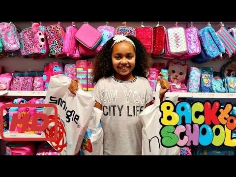 Bad Baby BACK TO SCHOOL SHOPPING! SHOES & CLOTHES SUPPLIES Toys AndMe
