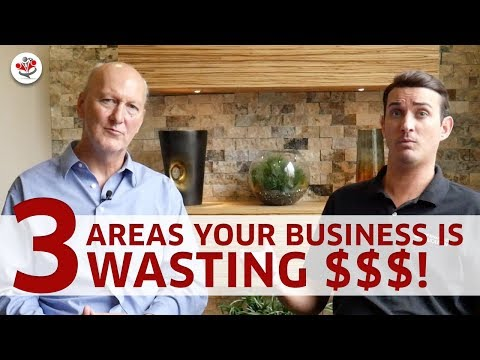 3 AREAS BUSINESS OWNERS ARE BURNING CASH (& how you can fix that to save thousands moving forward)