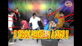 LOS MAS VIRALES EL SHOW ,TODOS NALGUEAN A KIWI !!