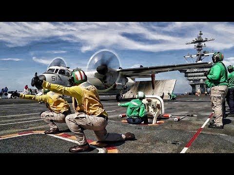 USN Aircraft Carrier Returns To Fleet After 4 Year Overhaul