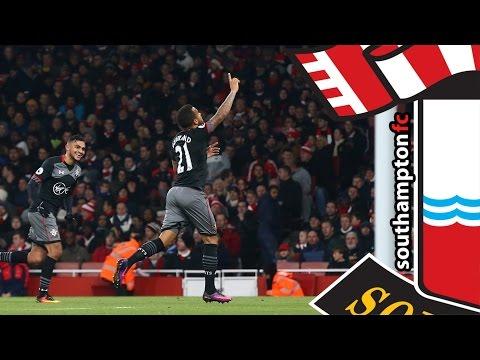 GOALS: Arsenal 0-2 Southampton