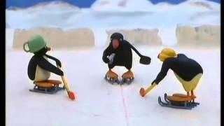 Pingu spelar hockey
