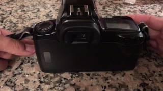 Canon EOS Rebel S II: Film Loading Procedure