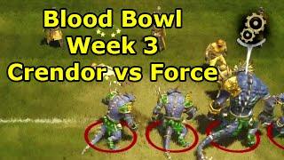 Blood Bowl 2: Crendorian Invitational Week 3 vs Force