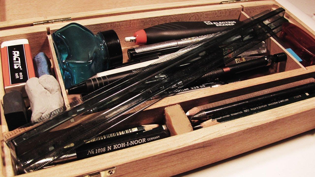 Architect's Adda: Rotor Ink Sketching - Equipment