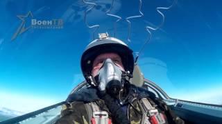 Як-130. Пуски управляемых ракет по воздушным целям