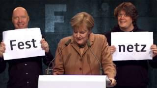 Angela Merkel sucht ein Wort mit F