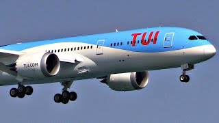 TUI/Thomson First 787-9 Dreamliner | First Landing & Takeoff @ LCA, Cyprus | Plane Spotting