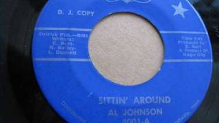 AL JOHNSON ,    SITTIN
