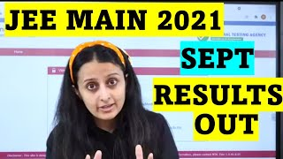 JEE MAINS 4TH SESSION 2021 RESULT OUT