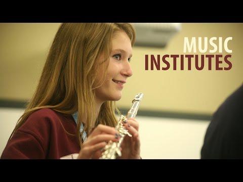 Arts Camp: Summer Music Institutes
