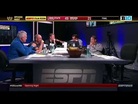 Les Miles and a hot mic left an ESPN crew to use the restroom