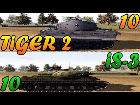 Men of War Assault Squad 2 - 10 IS-3 vs 10 Tiger 2 - Editor Scenario #43 |